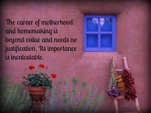 Sally - Career of motherhood